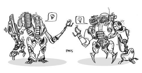 robots by SomethingEveryDay