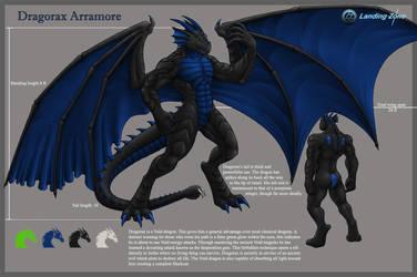Dragorax Refsheet by LandingZone