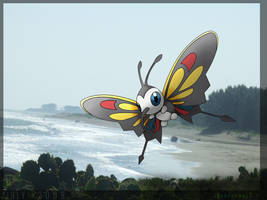 Beautifly... the july pokemon by Thunderwest