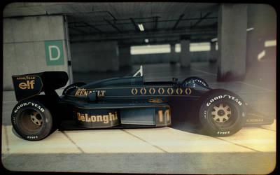 Lotus 98T #2 by blakk