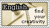 Stamp: English2 by zoro4me3