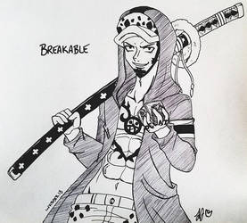 INKTOBER 2018 - Day 20: Breakable by zoro4me3