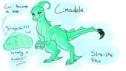 Cimadela // OCs by Pachycephalosauria