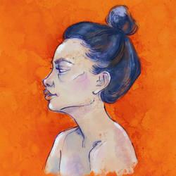 Orange by monkeymintaka