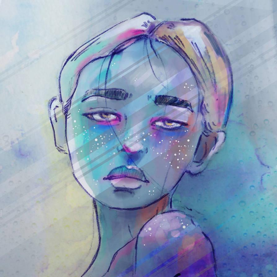 Blue by monkeymintaka