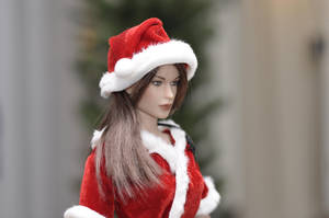Lara is ready for Chistmas by Badaki