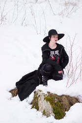 Casual Goth 2 by WiksPhotography