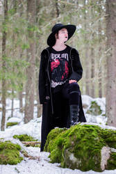 Casual Goth 3 by WiksPhotography