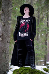 Casual Goth 5 by WiksPhotography