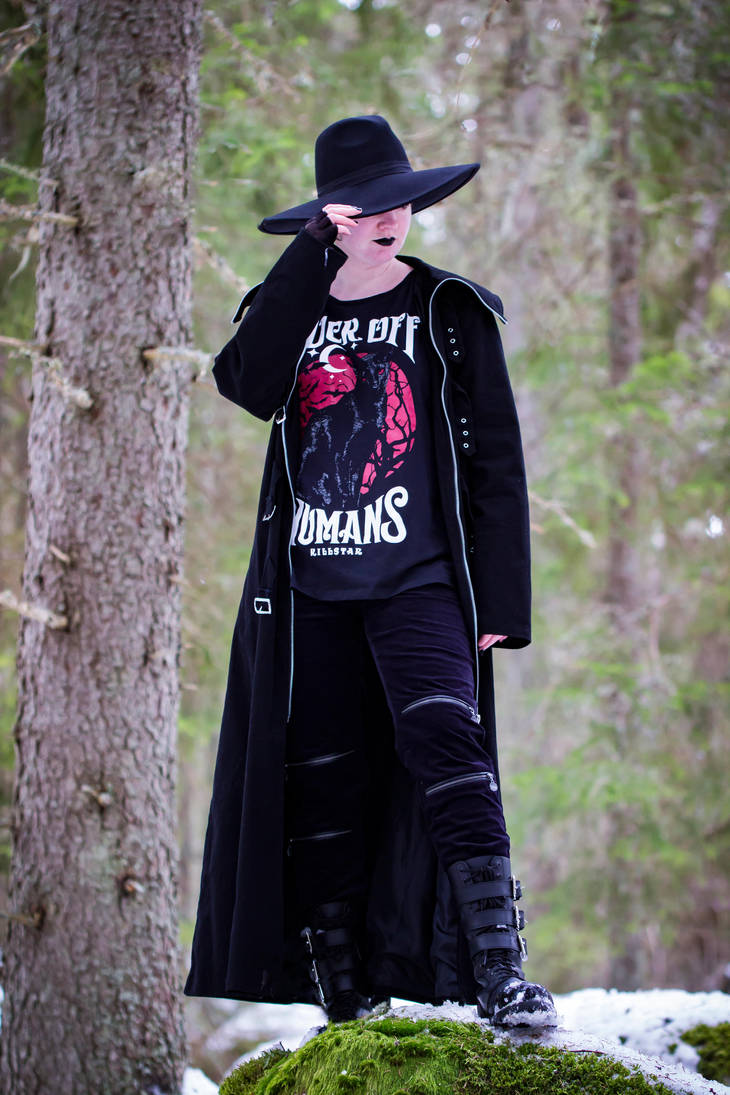 Casual Goth 6 by WiksPhotography