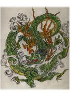 Asian Dragon by FlaShGuy82