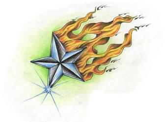 Burning Star by FlaShGuy82