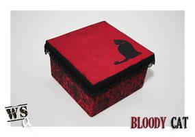 Bloody Cat by WoodStockArtBR