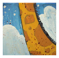 Little Paintings - Giraffe by Duffzilla