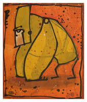 Little Paintings - Gorilla by Duffzilla