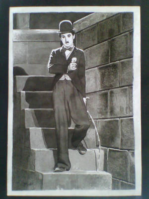 Charles Chaplin by lidianne