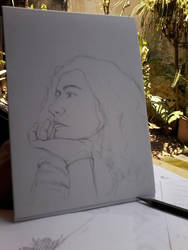 Self portrait by lidianne