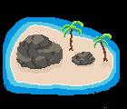 Pixel Art - Island by Nirexy