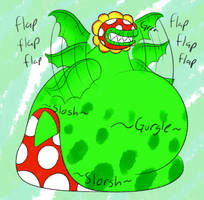 A Bit Too Waterlogged by Yoshi-eats-your-pie