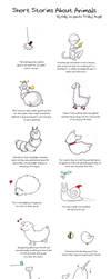 Animal Stories Calendar by kangel