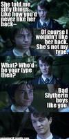 Slytherin Bad Boys by AnnikaClarisse