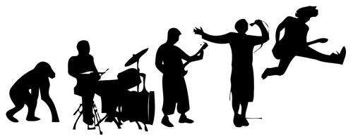 Evolution of Rock Musicianship by StoicLewy
