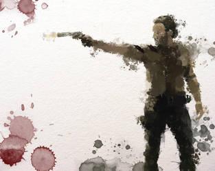 Rick Watercolour TWD by zosco