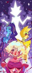 The Diamonds by Marghy-Art
