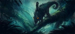 Chameleon ride by neylica