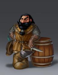 Fnarf The Dwarf by 89Red