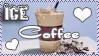 Ice Coffee Stamp by CoffeeAddictionClub