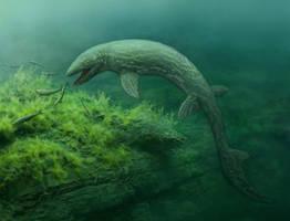 Prognathodon by NGZver