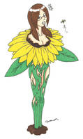 Commission - Sunflower TF by cqmorrell
