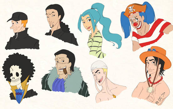 Disneyfied - more One Piece by scaragh