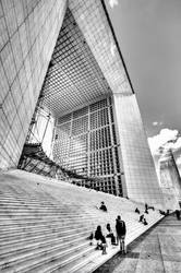 Grande Arche VI - Paris by ThomasHabets