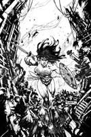 Injustice Gods Among Us #3 Wonder Woman by Raapack