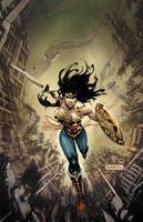 Injustice Gods Among Us #3 Wonder Woman in Color by Raapack