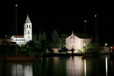 Croatia - the night church by RivalCz