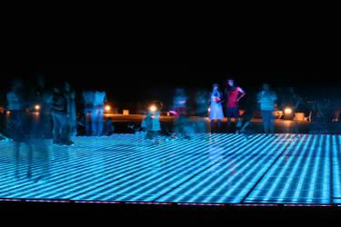 Croatia - the big neon circle by RivalCz