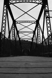 Bridge - black and white by RivalCz