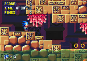 Sonic Mania - Labyrinth Zone by Jacob-turbo