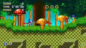 Sonic Mania - Mushroom Hill Zone by Jacob-turbo