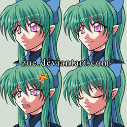 Expressions of Mir by Zue