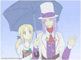 Sym : In the rain by Zue
