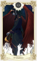 MS Tarot: [XX] Judgement by Zue