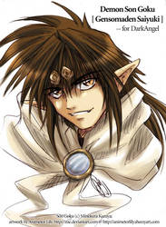 Saiyuki - Demon Son Goku by Zue