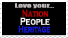 Nationalist Stamp by Nerd-Artist23