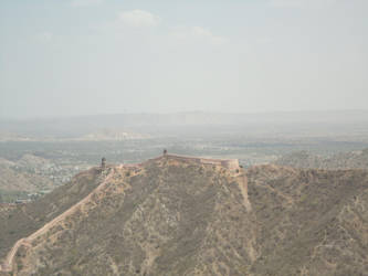Bird's eye view of fort by jainswapnil52
