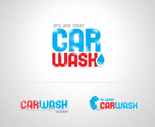 Carwash logo by Elena3