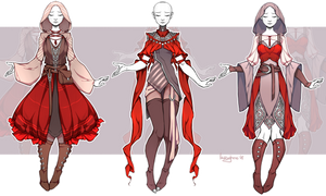 [CLOSED] Outfit Adopt 20/18 by larighne
